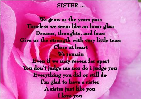 I Love You Sister Quotes Extraordinary Quotes About Love I Love My Sister Quotes
