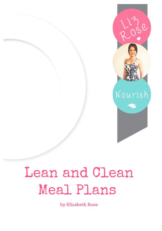 elizabeth rose meal plans