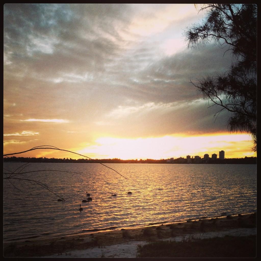 Perth Sun Set