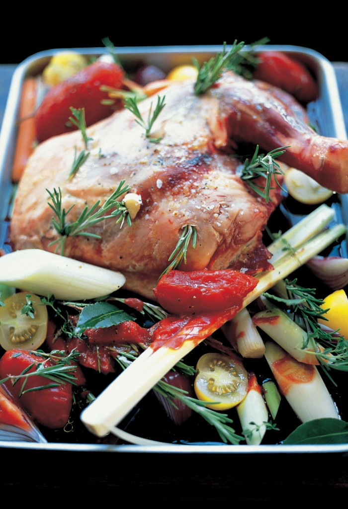 slow cooked lamb shoulder